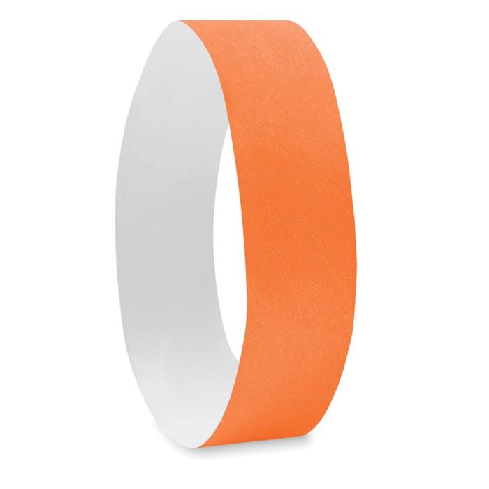 Náramek pro účastníky akcí Tyvek - orange