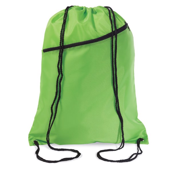 Large drawstring bag Bigshoop - Lime