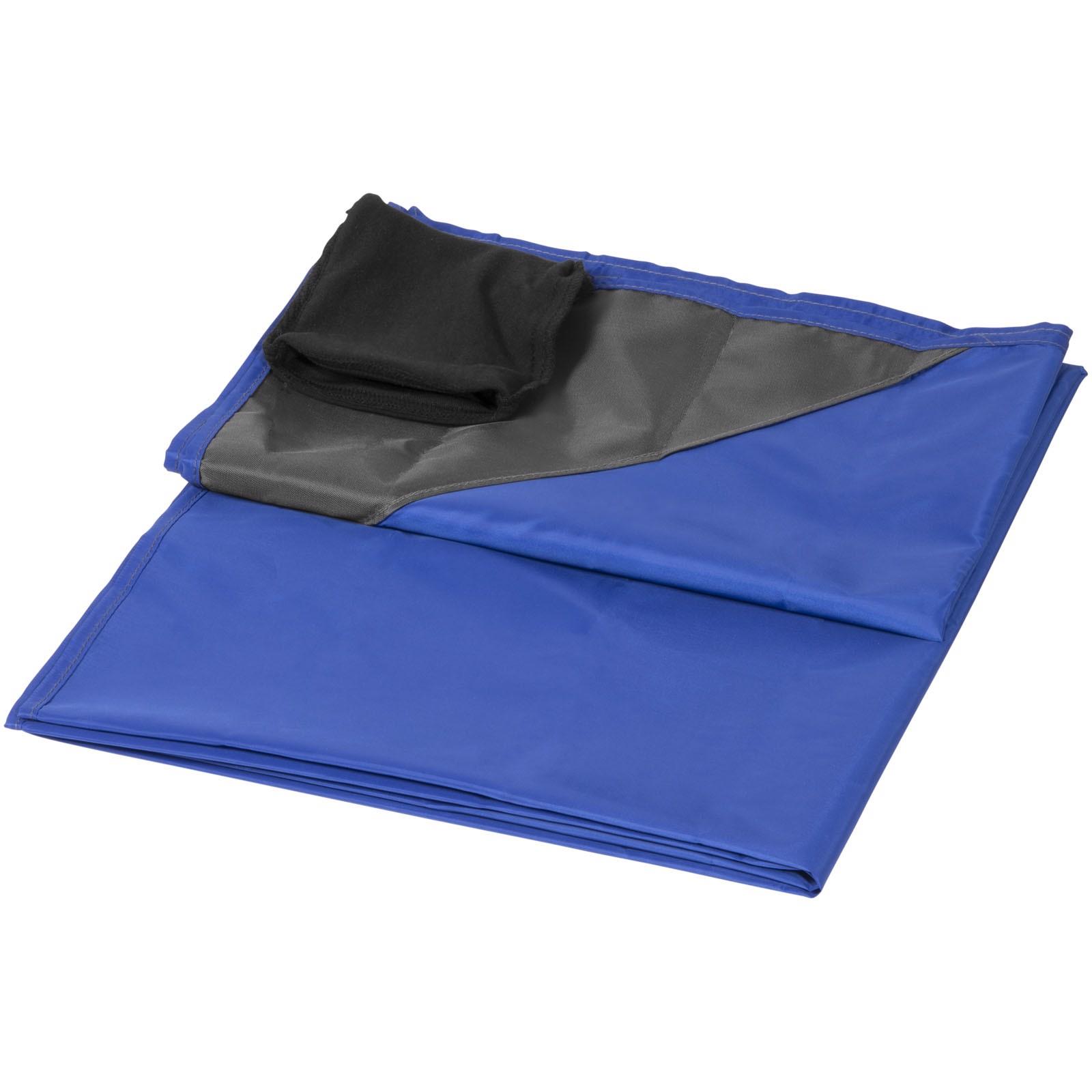 Voděodolná venkovní deka na piknik Stow-and-go - Světle modrá