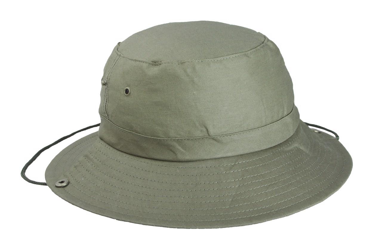Klobouk Safari - Zelená
