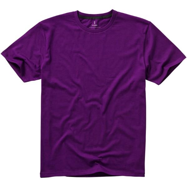 Nanaimo short sleeve men's t-shirt - Plum / XS