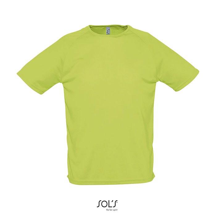 SPORTY MEN T-SHIRT 140g - Apple Green / L