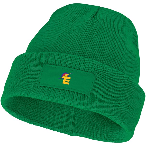 Boreas beanie with patch - Fern Green