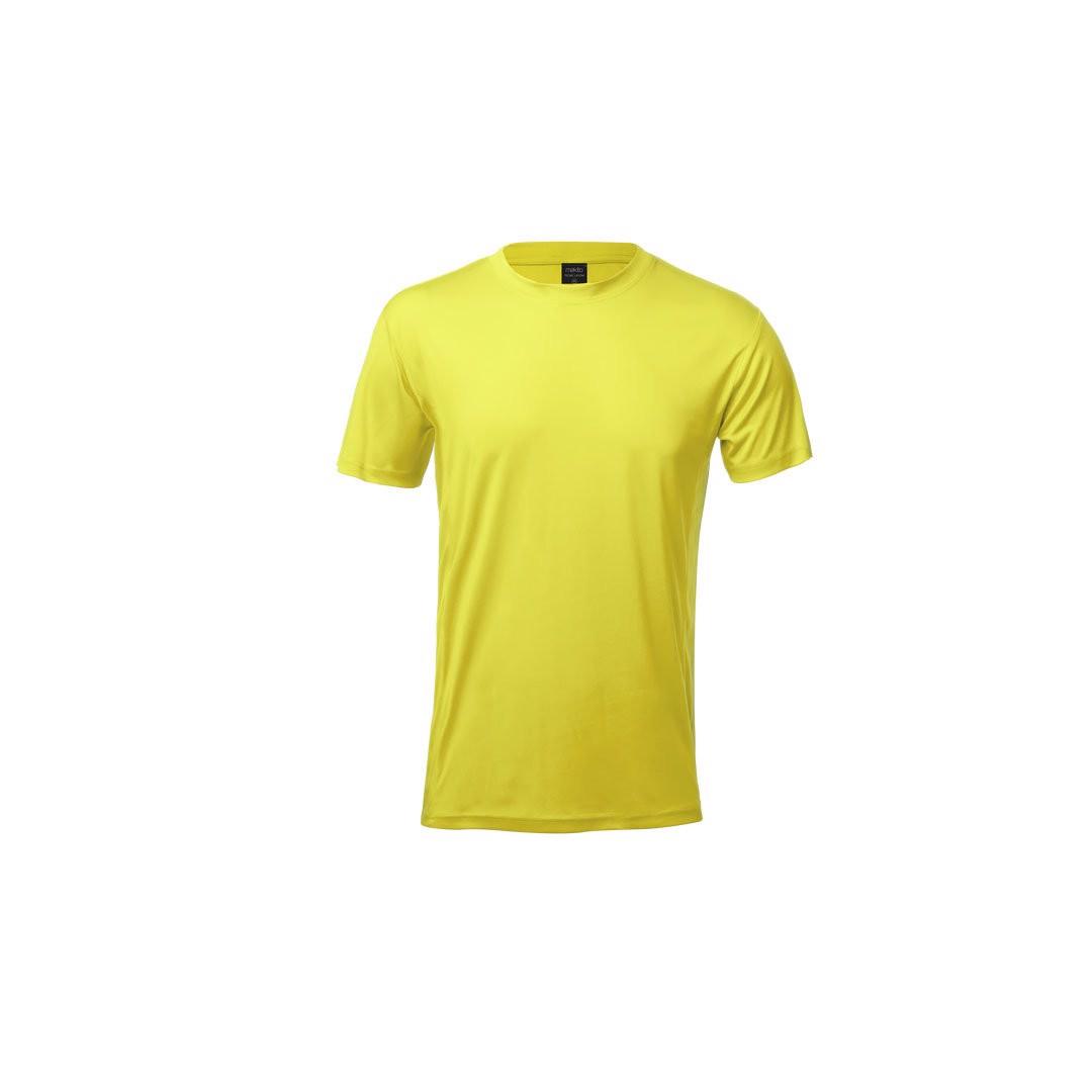 T-Shirt Adulto Tecnic Layom - Amarelo / S