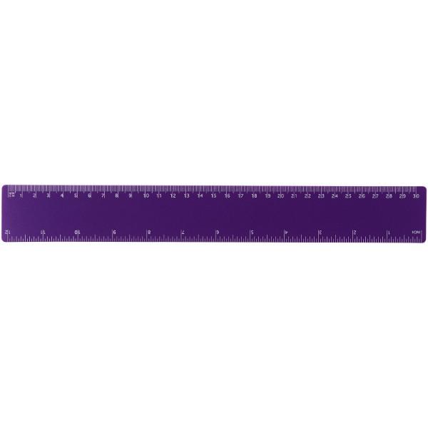 Rothko 30 cm plastic ruler - Purple
