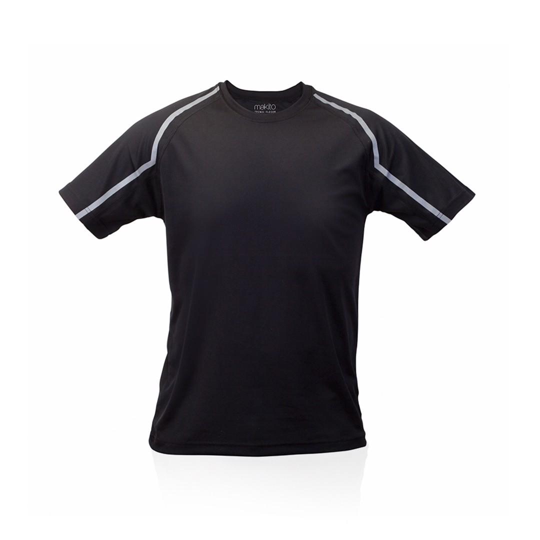 Camiseta Adulto Tecnic Fleser - Negro / XXL
