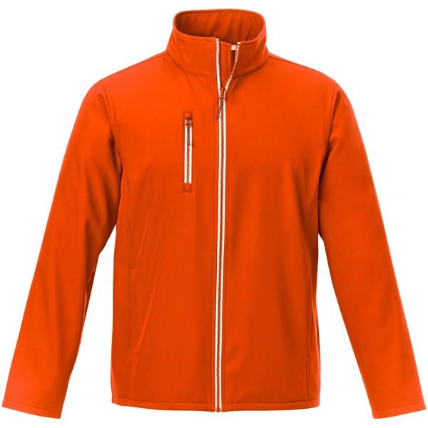 Orion men's softshell jacket - Orange / S