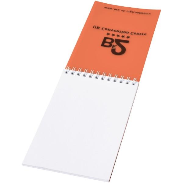 Poznámkový blok Rothko A7 - 0ranžová / Bílá / 50 pages