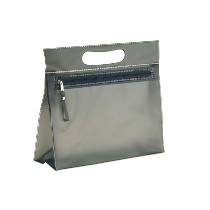 Transparent cosmetic pouch Moonlight - Black