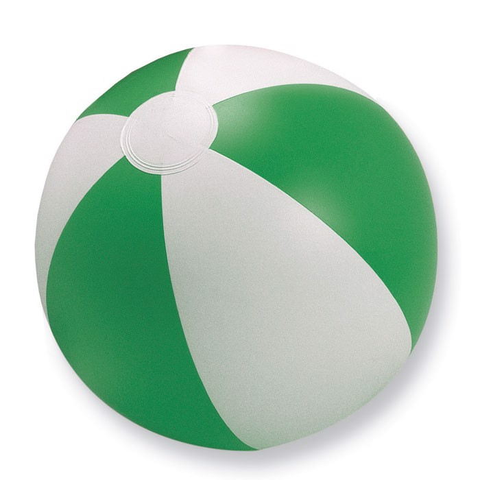 Nadmuchiwana piłka plażowa Playtime - zielony