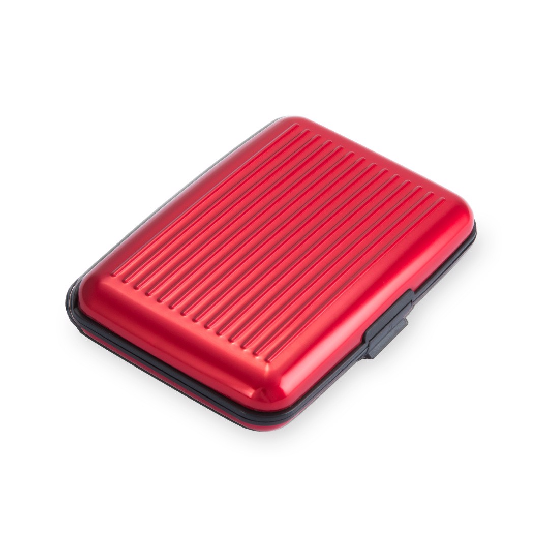 Card Holder Hektar - Red
