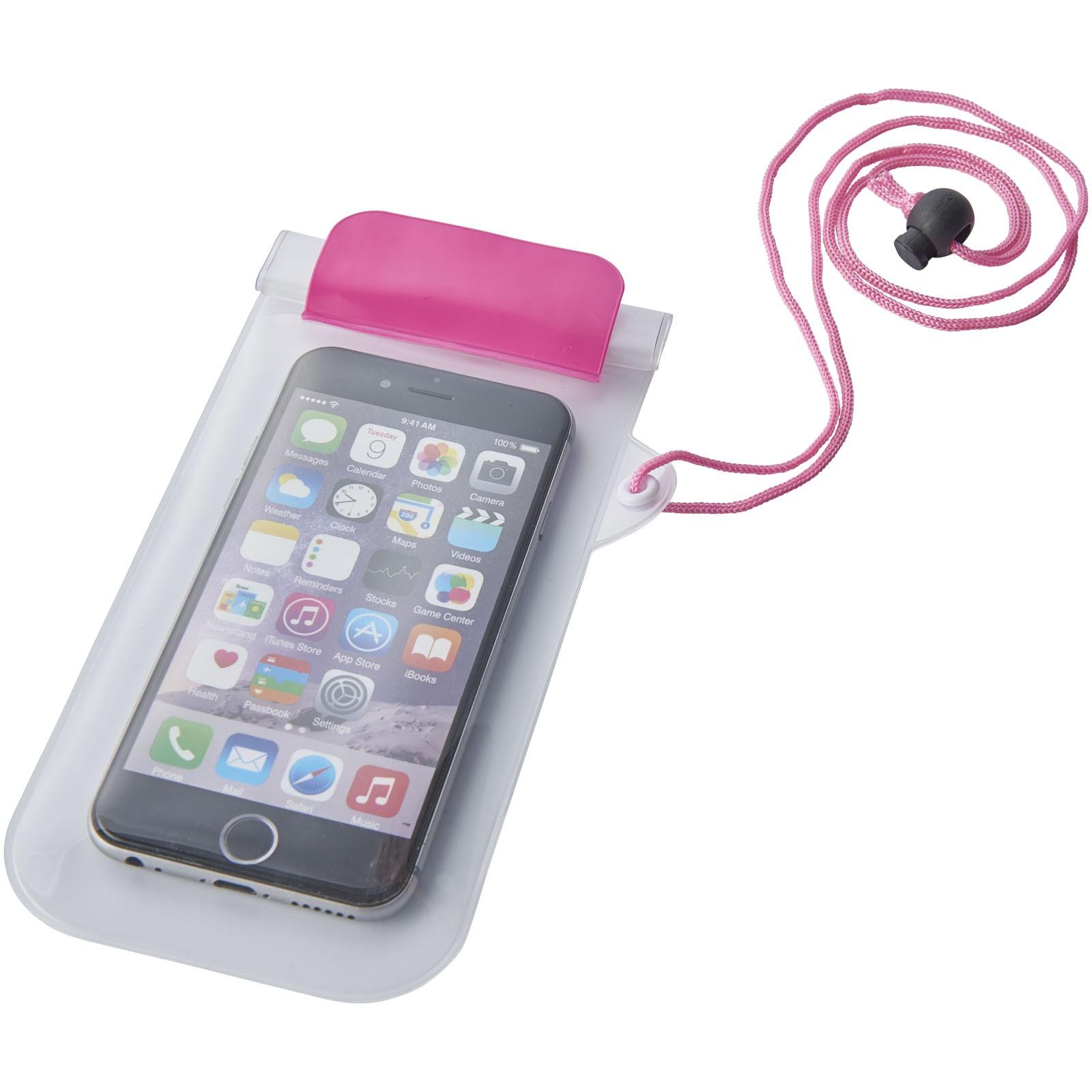 Wodoszczelny futerał na smartfona Mambo - Magenta