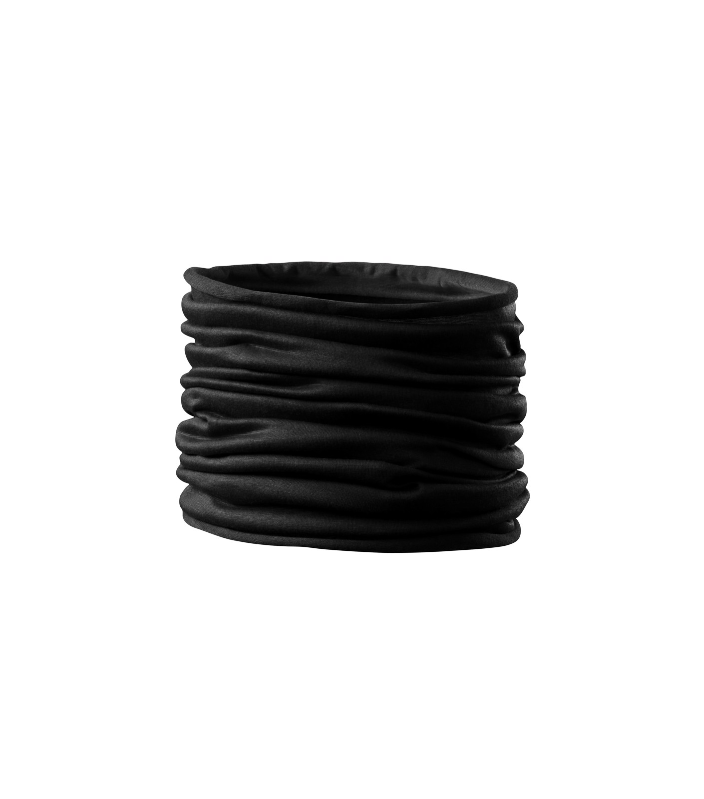 Scarf Unisex/Kids Malfini Twister - Černá / uni