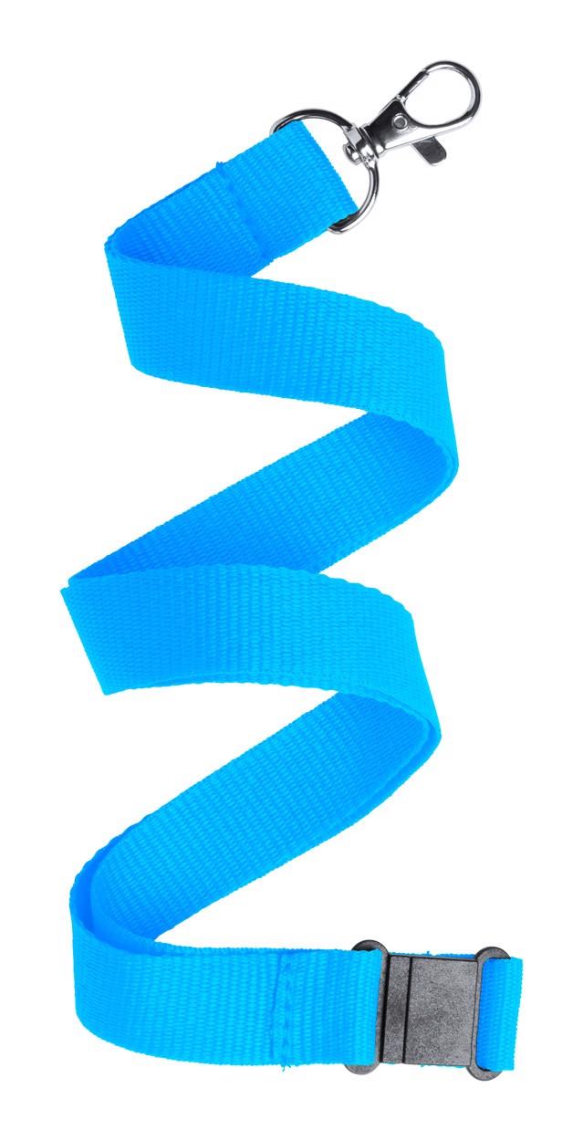 Lanyard Kappin - Světle Modrá