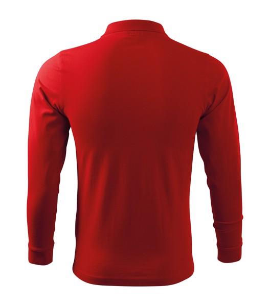 Polo Shirt men's Malfini Single J. LS - Red / S