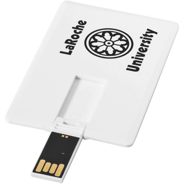 USB disk Slim ve tvaru karty, 4 GB