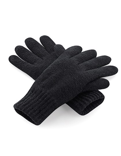 Classic Thinsulate™ Gloves - Black / S/M