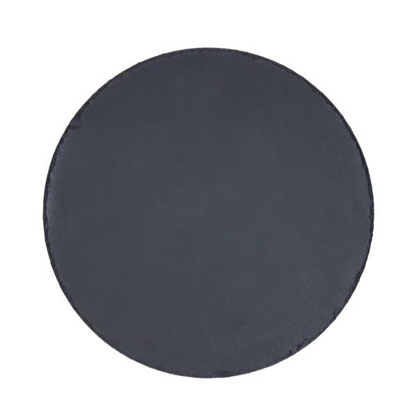 """Serving Platter """"Slate"""" Round, Large"""