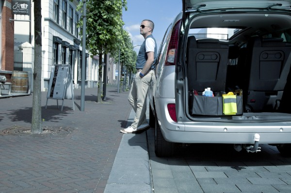 Car-Organizer 'Big Daddy' aus Polyester