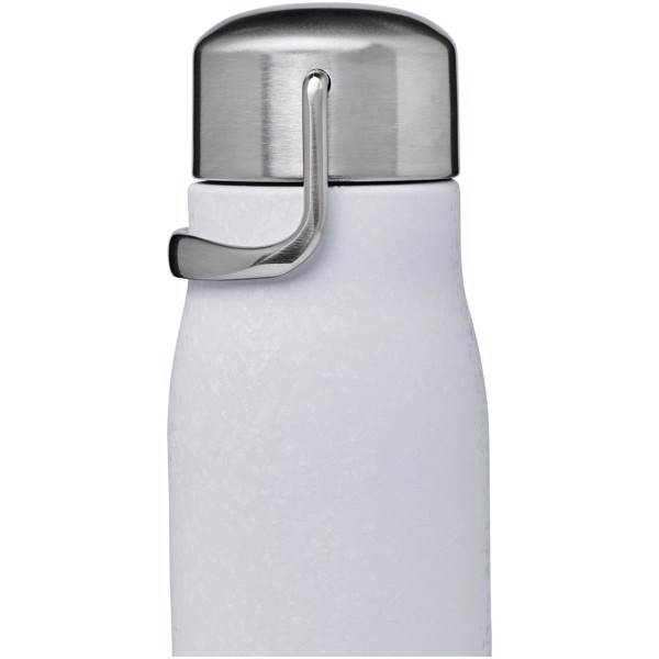 Yuki 350 ml copper vacuum insulated sport bottle - White