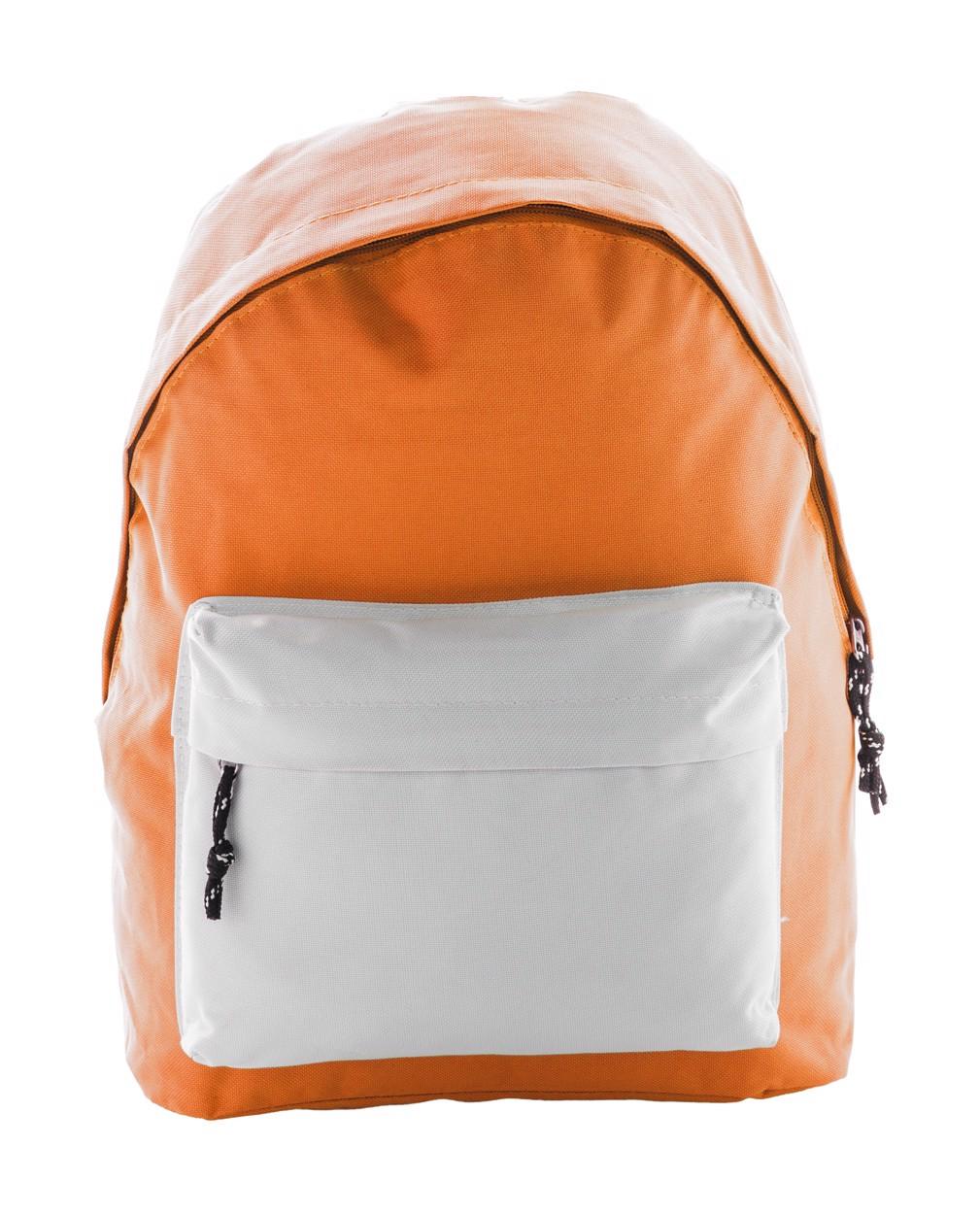 Batoh Discovery - Oranžová / Bílá