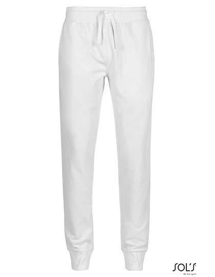Women`S Slim Fit Jogging Pants Jake - White / S
