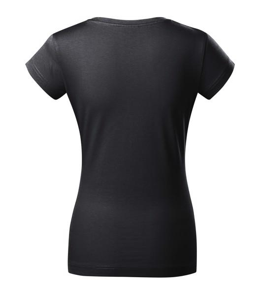Tričko dámské Malfini Fit V-neck - Ebony Gray / XS