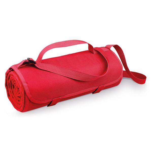 FLEECE. Κουβέρτα 160 g/m² - Κόκκινο