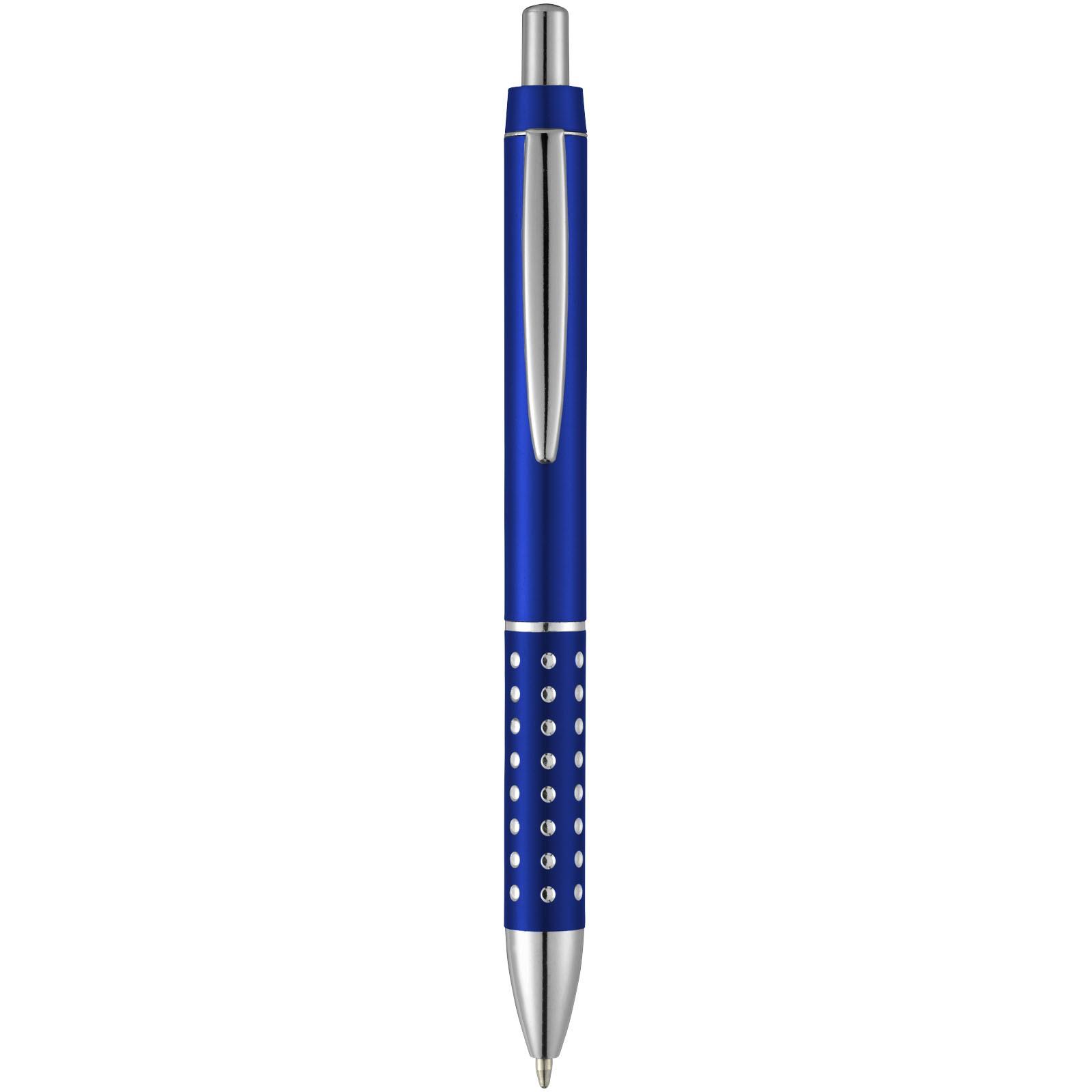 Kuličkové pero Bling s hliníkovým úchopem - Světle modrá
