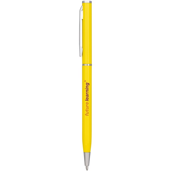 Slim Aluminium Kugelschreiber - Gelb