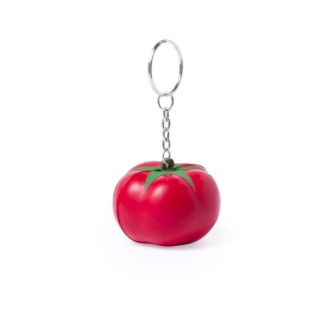 Llavero Antiestrés Fruty - Tomate