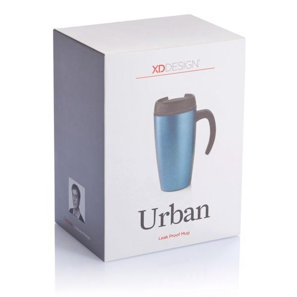 Urban bögre - Kék / Fekete