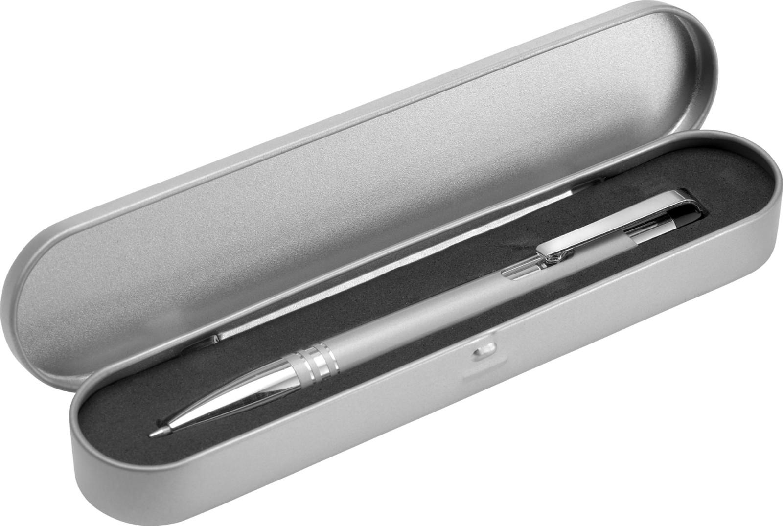 Aluminium ballpen - Silver