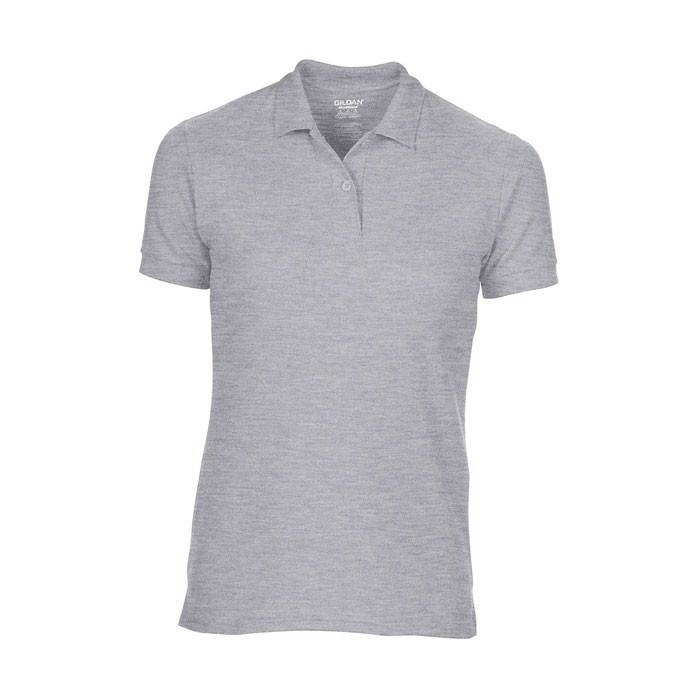 Damska Koszulka polo 207 g/ Dryblend Ladies Pique 75800L - Sport Gris / XL
