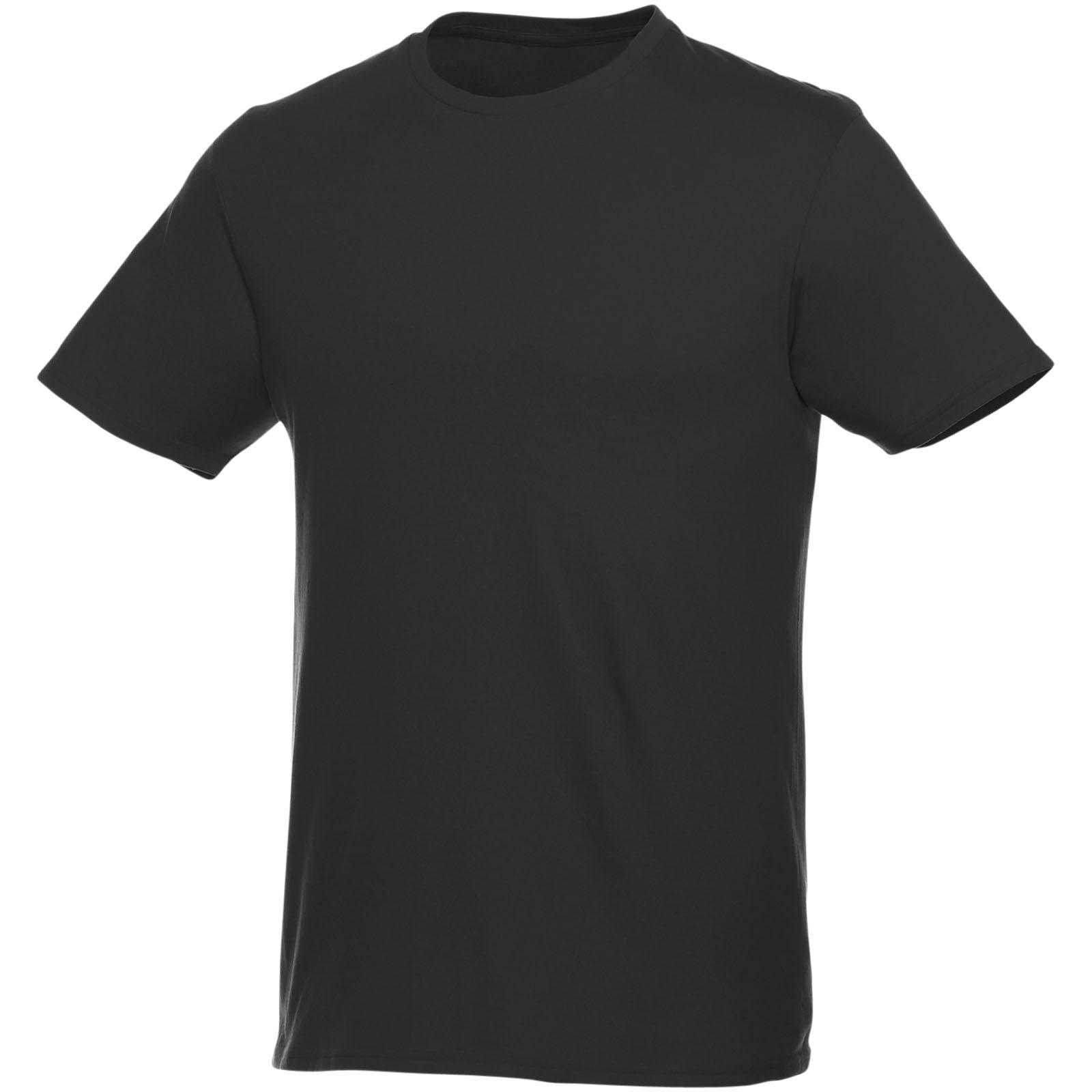 Pánské Triko Heros s krátkým rukávem - Černá / 3XL