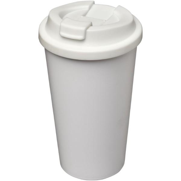 Americano® 350 ml spill-proof insulated tumbler - White