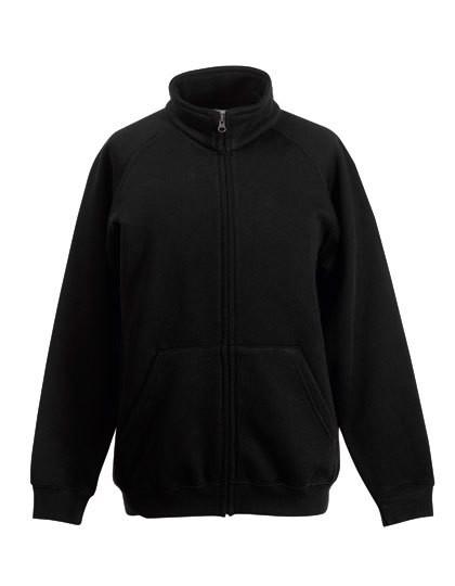 Kids Classic Sweat Jacket - Black / 116