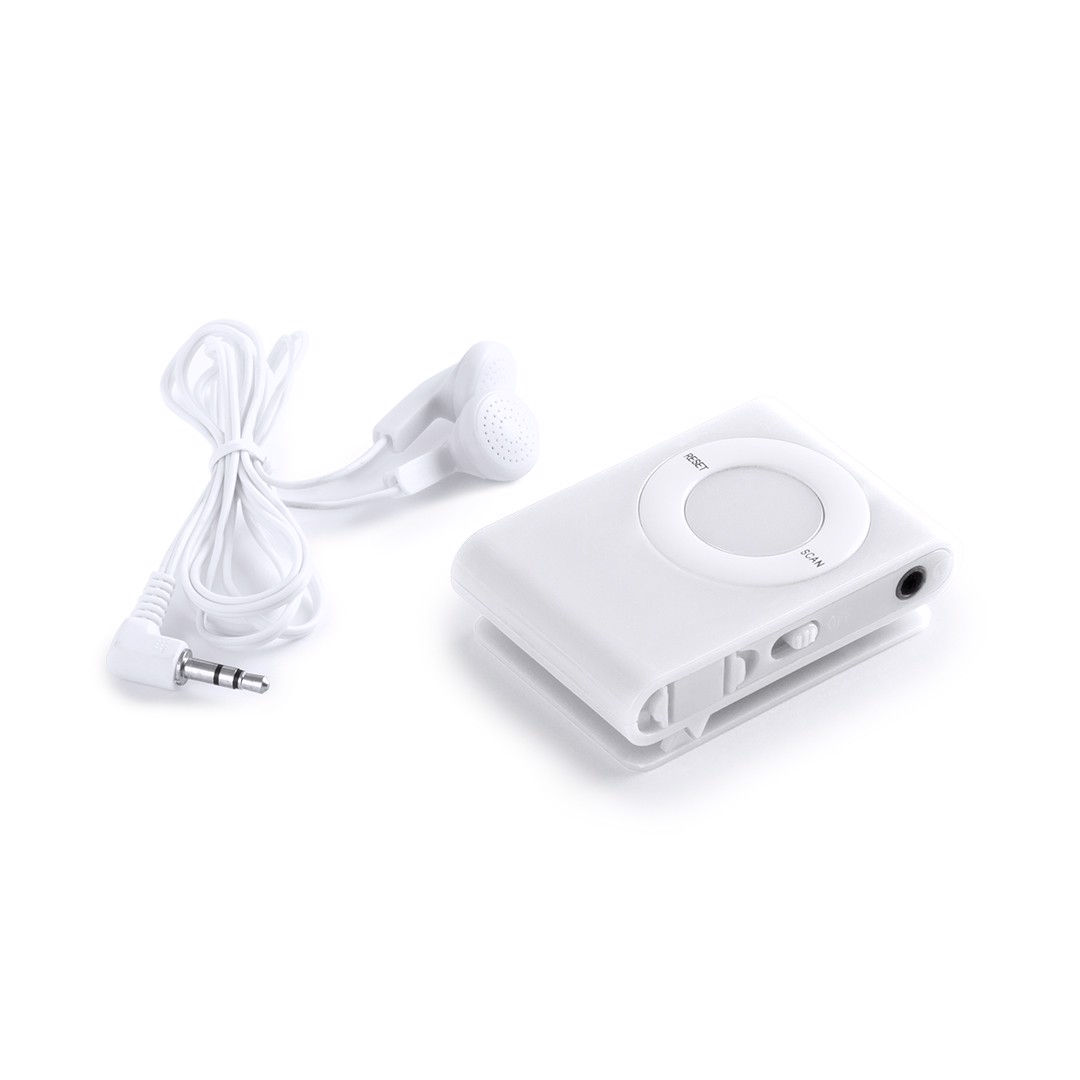 Mini Radio Probe - White