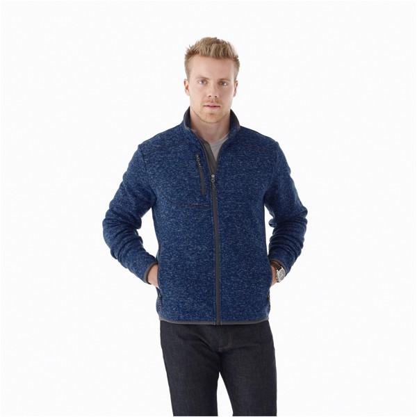 Tremblant men's knit jacket - Heather grey / M