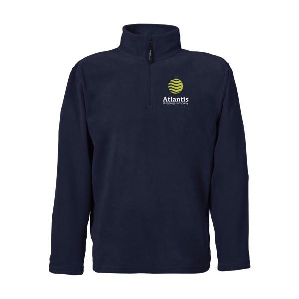 Regatta Micro Zip Neck Fleece Sweater Mens - Navy / XXL