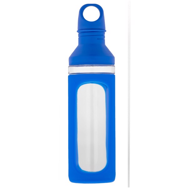 Hover 590 ml Glasflasche - Blau / Transparent
