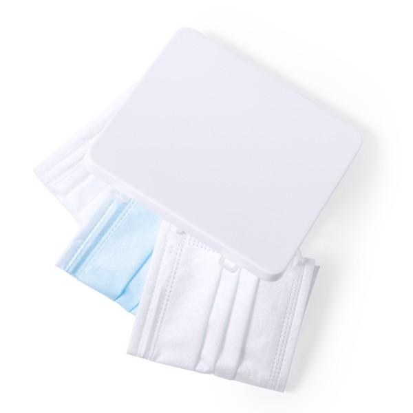 Portamascarillas Linek - Blanco
