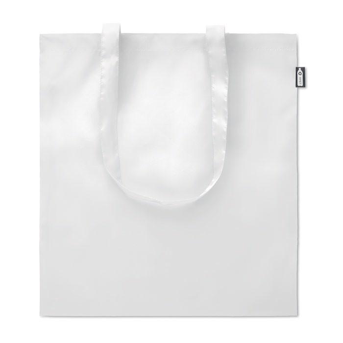 Shopping bag in 100gr RPET Totepet - White