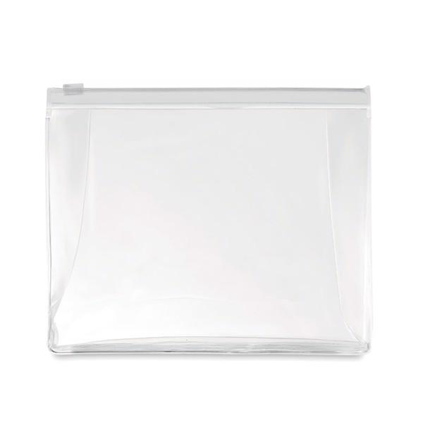Kosmetyczka Cosmobag - przezroczysty biały