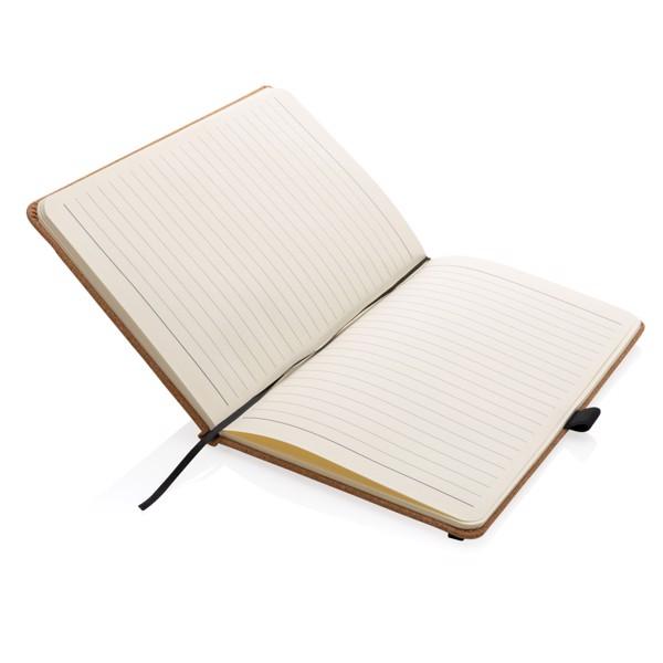 Cork hardcover notebook A5