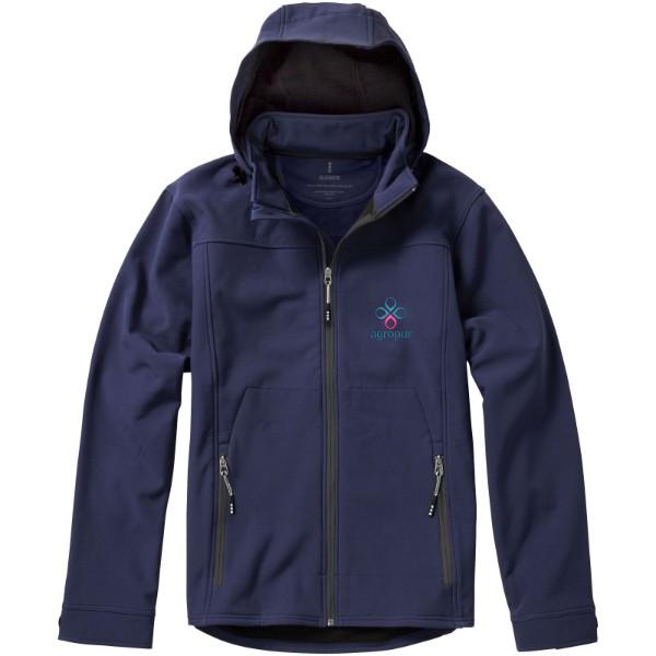 Softshellová bunda Langley - Navy / M