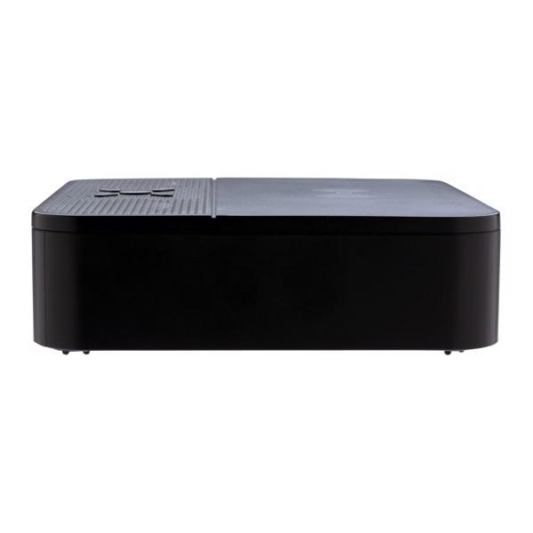 Vezeték nélküli töltős hangszóró órás kijelzővel - Fekete