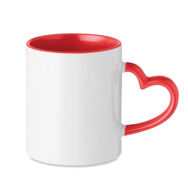 Kubek ceramiczny Sublim Red