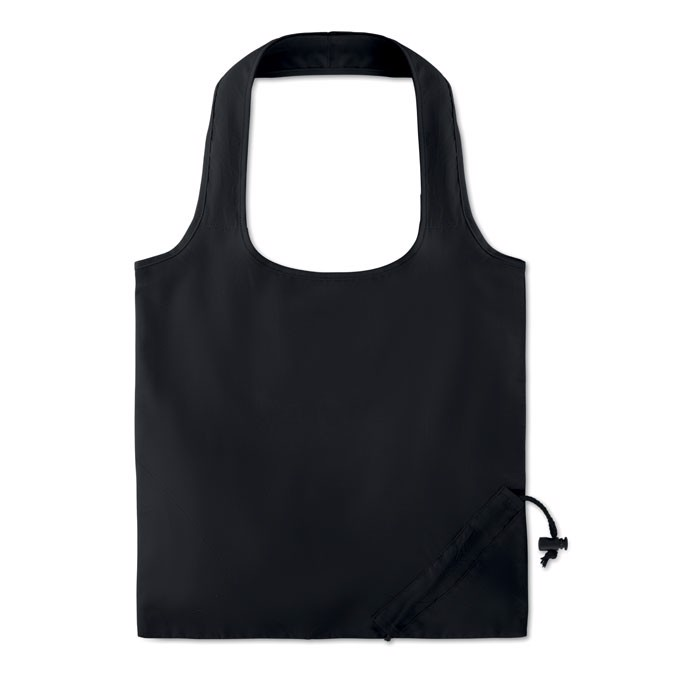 Foldable cotton bag 105 gr/m² Fresa Soft - Black