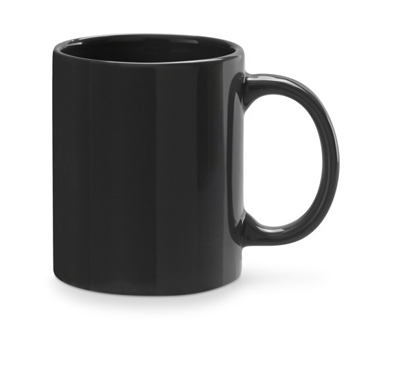 BARINE. Ceramic mug 350 ml - Black
